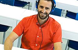 Francisco Cuadrado, director del proyecto La Escucha Inconsciente